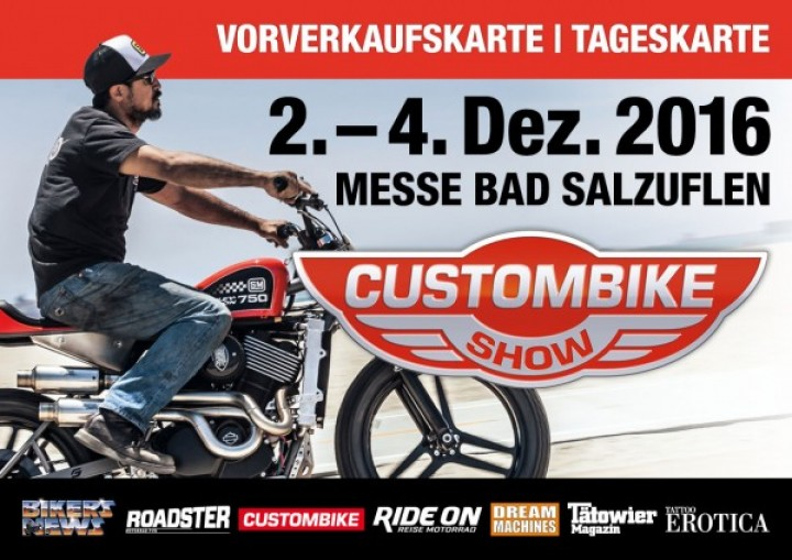Custom-Bike 2016 Tageskarte