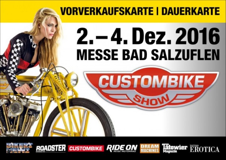 Custom-Bike 2016 Dauerkarte