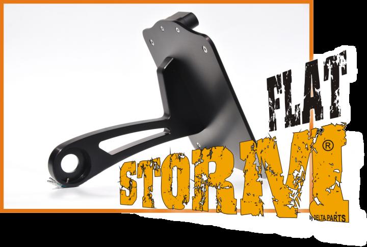 Storm Flat Dark Black