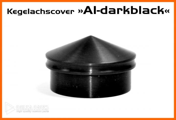 Kegelachscover A1 Dark Black