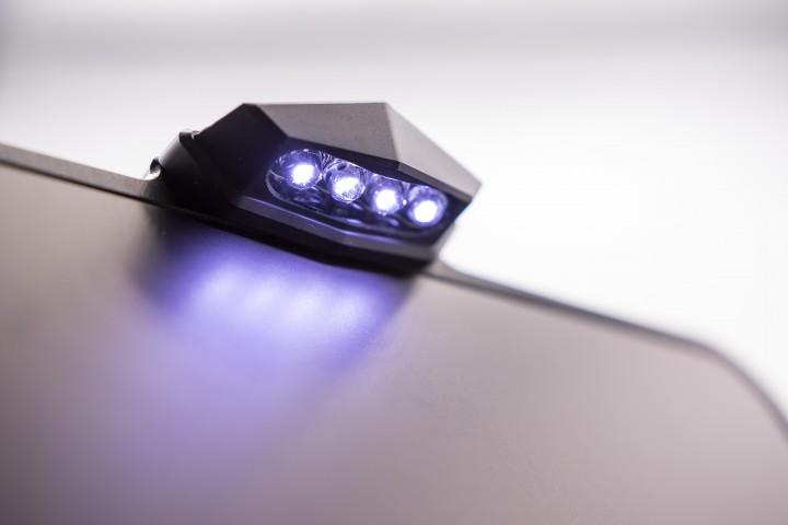 LED-Leuchte schwarz Modell 2019